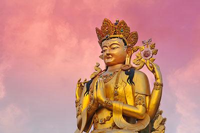 Golden Buddha Sakyamuni